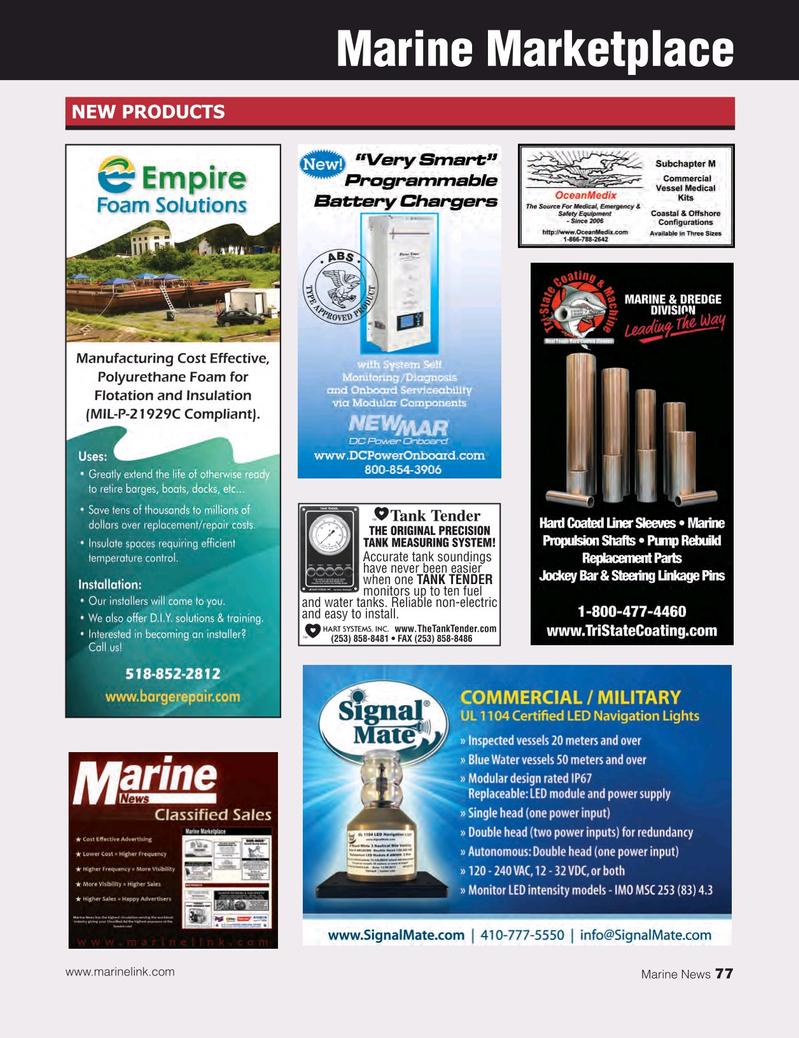 Marine News Magazine, page 77,  May 2018