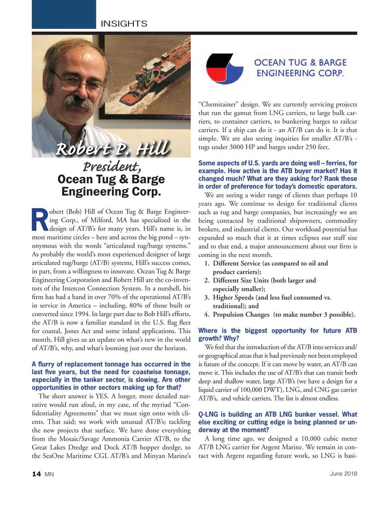 Marine News Magazine, page 14,  Jun 2018
