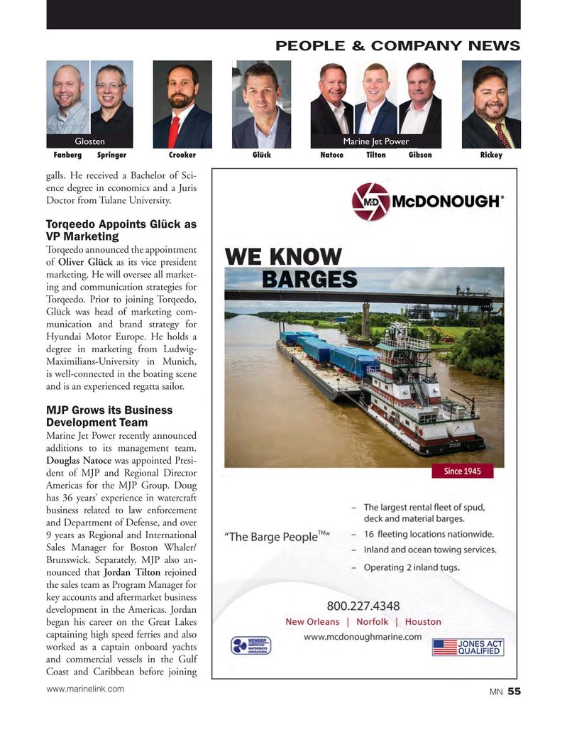 Marine News Magazine, page 55,  Jun 2018