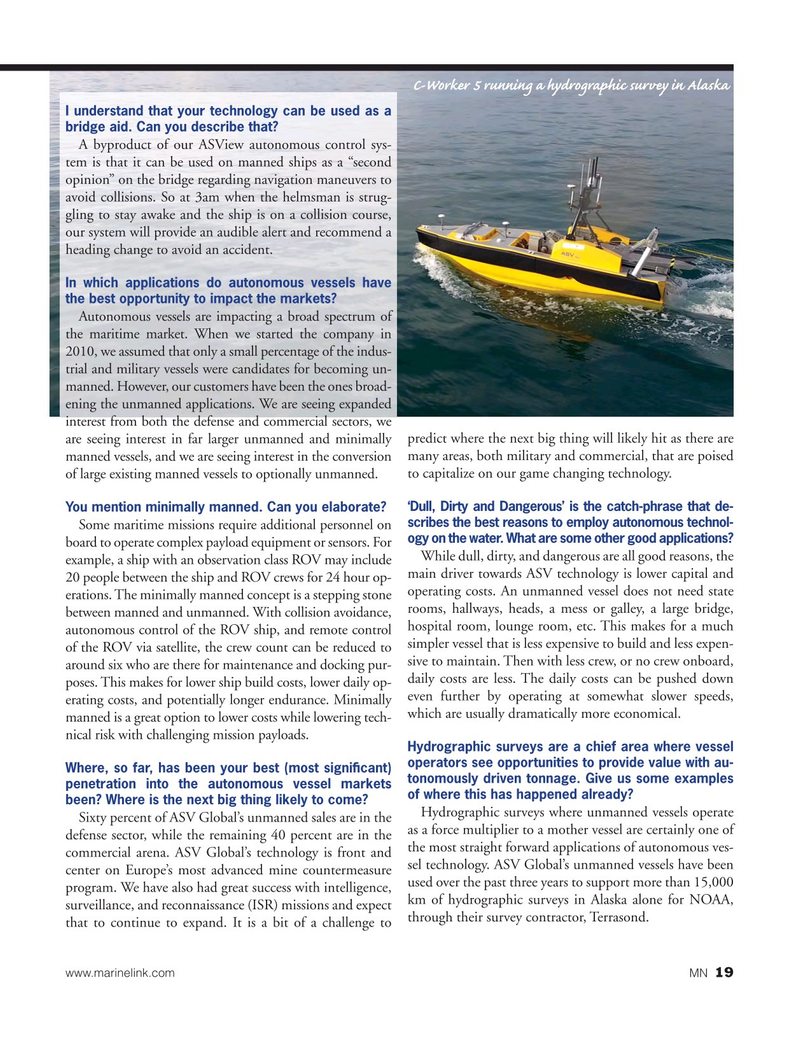 Marine News Magazine, page 19,  Oct 2018