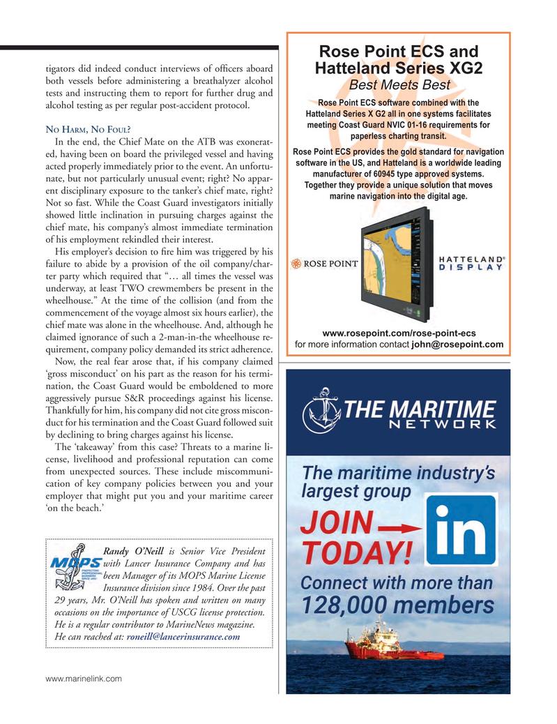 Marine News Magazine, page 25,  Oct 2018