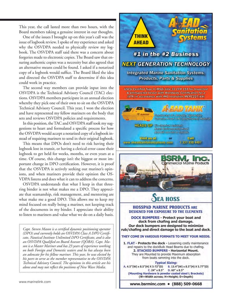 Marine News Magazine, page 27,  Oct 2018