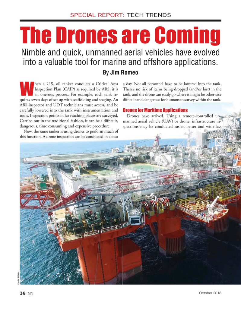 Marine News Magazine, page 36,  Oct 2018
