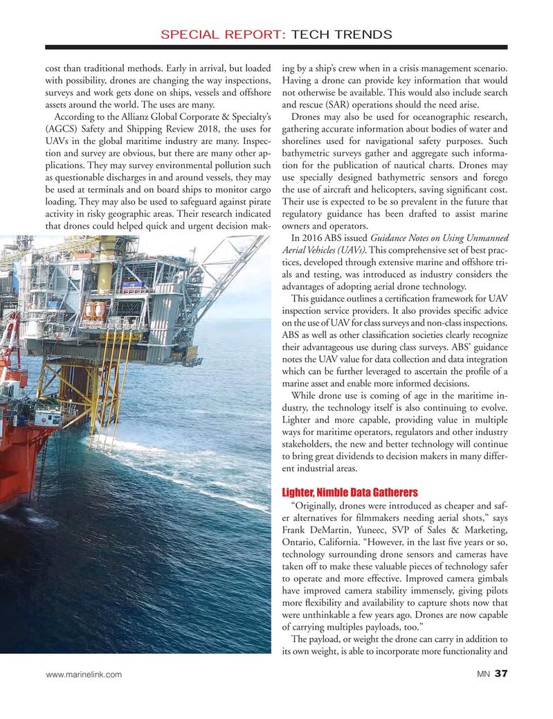 Marine News Magazine, page 37,  Oct 2018