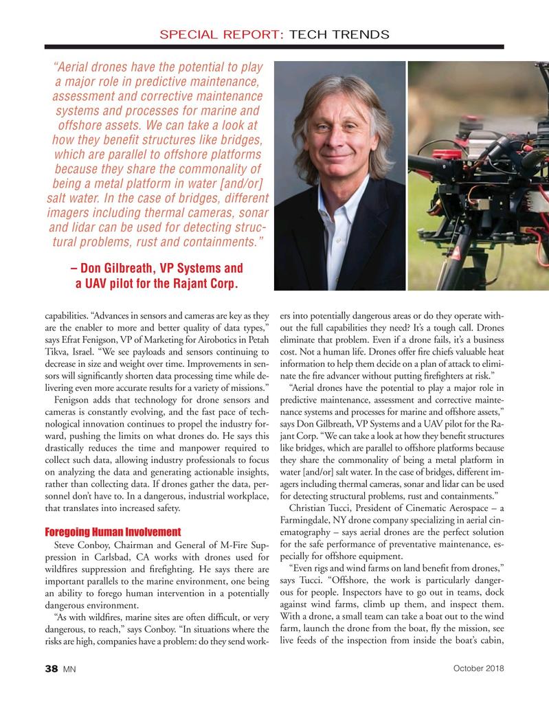 Marine News Magazine, page 38,  Oct 2018