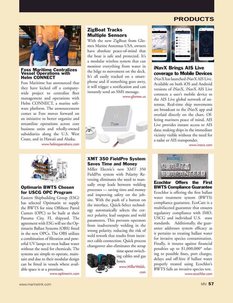 Marine News Magazine, page 57,  Oct 2018