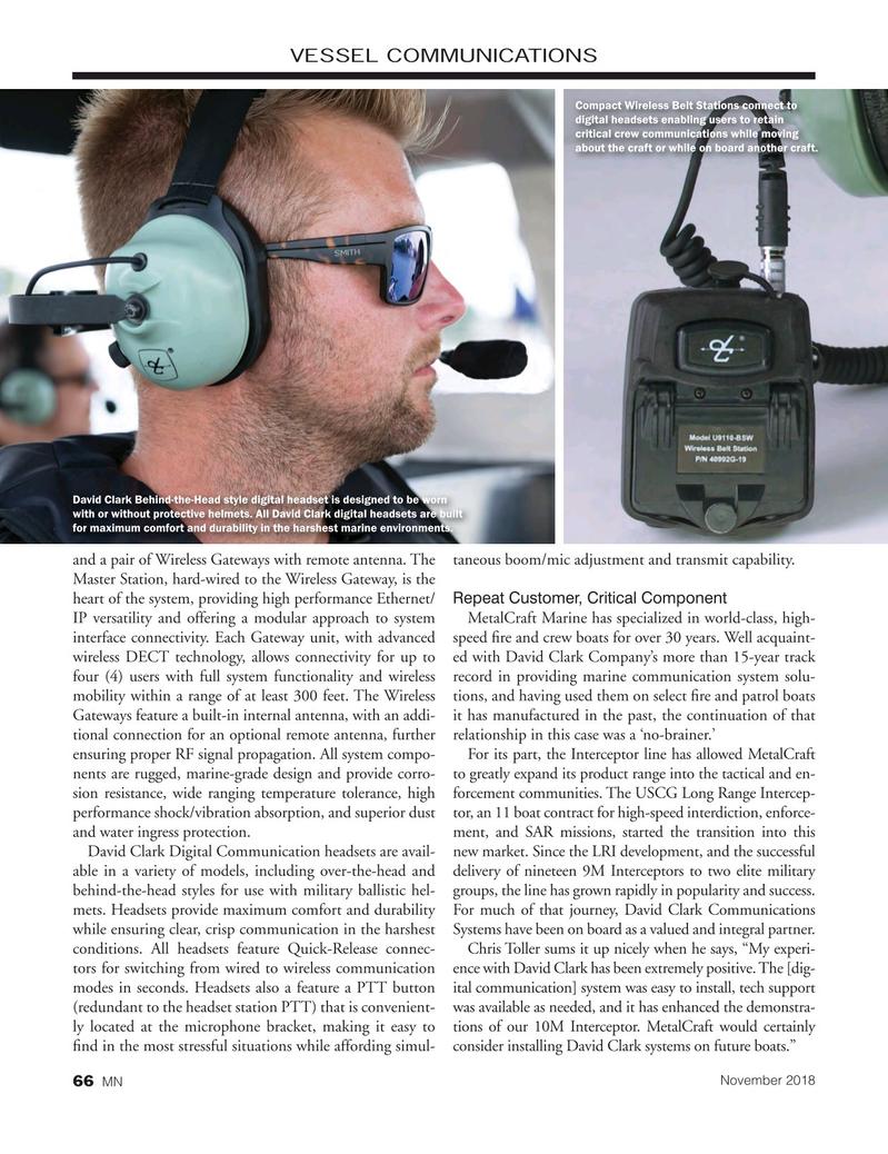 Marine News Magazine, page 66,  Nov 2018
