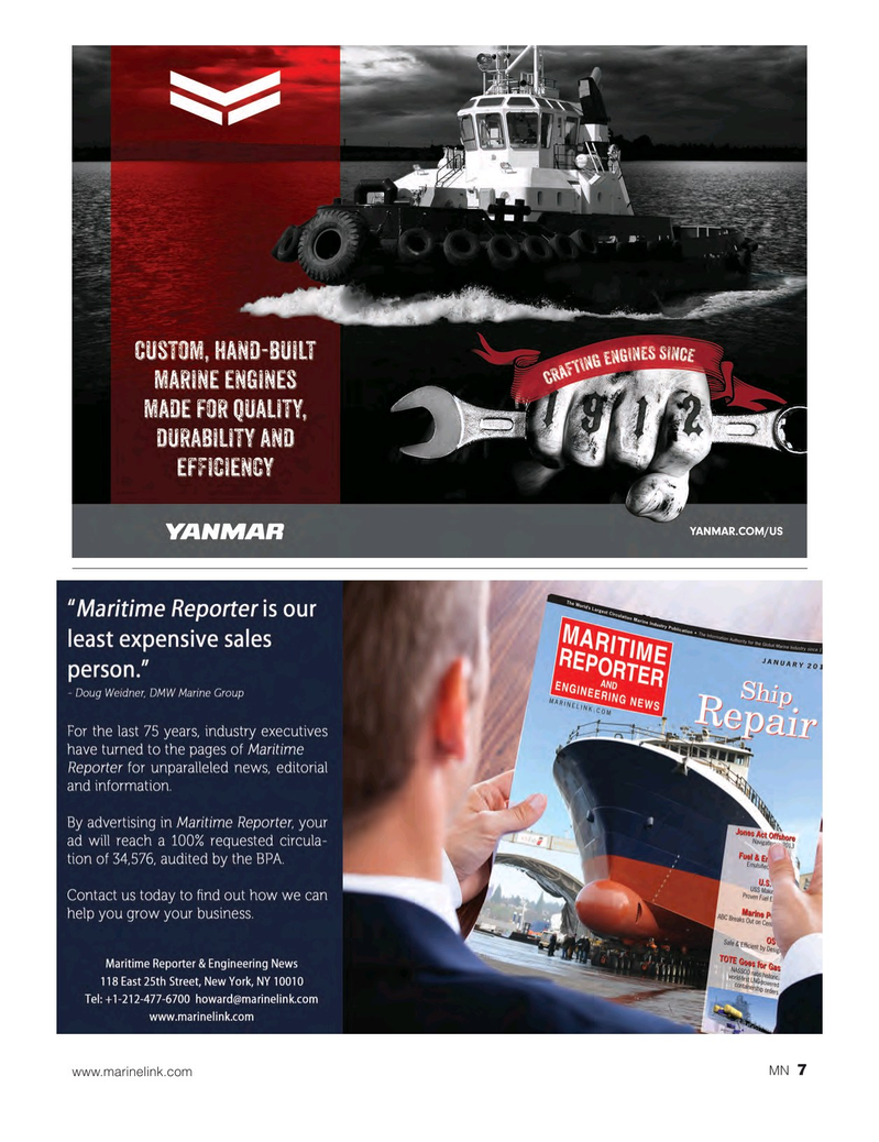 Marine News Magazine, page 7,  Dec 2018