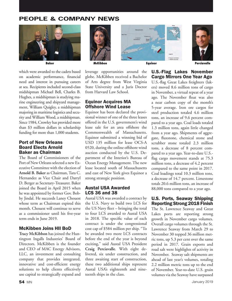 Marine News Magazine, page 54,  Jan 2019