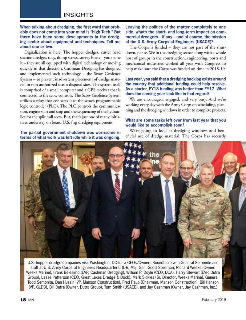 Marine News Magazine, page 18,  Feb 2019