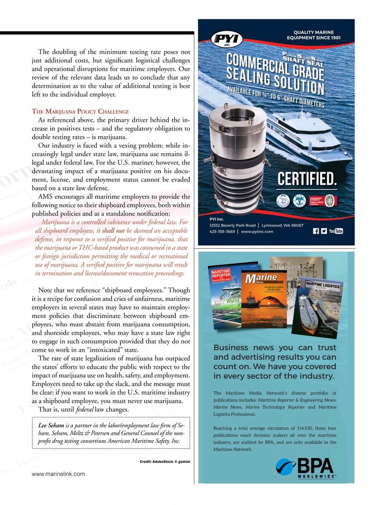 Marine News Magazine, page 23,  Feb 2019