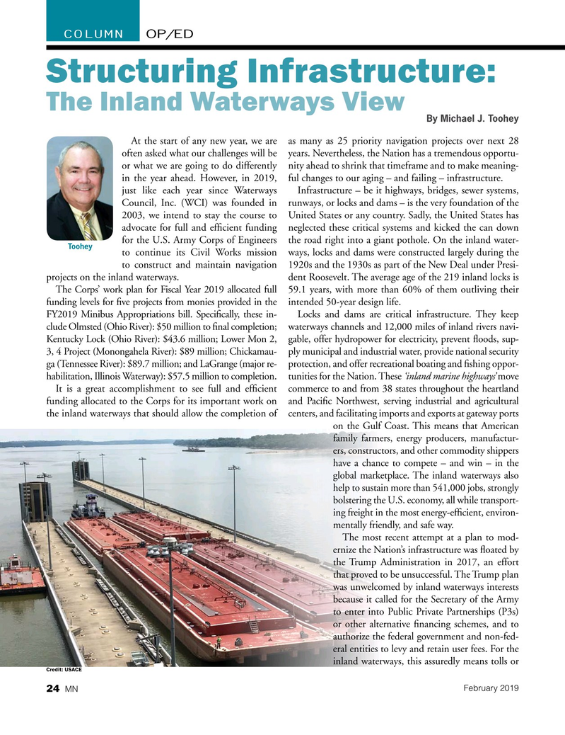 Marine News Magazine, page 24,  Feb 2019