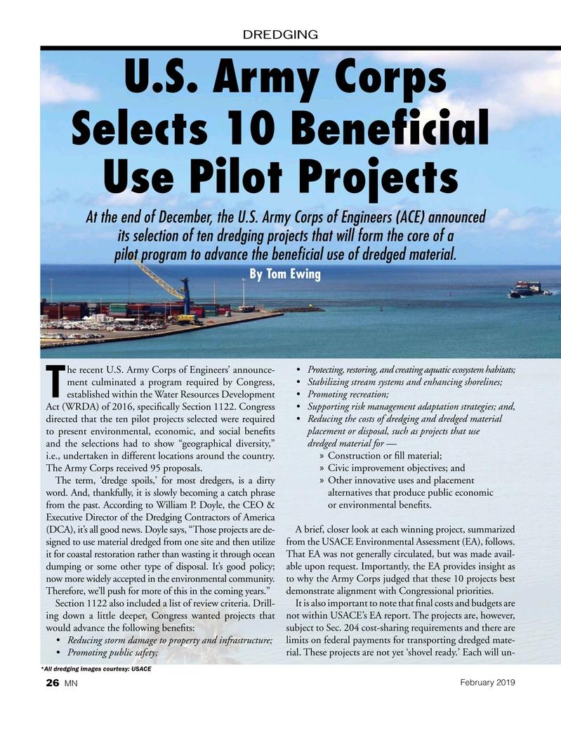Marine News Magazine, page 26,  Feb 2019