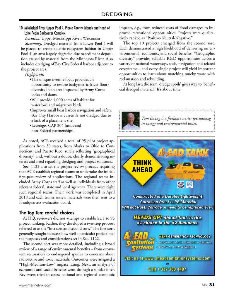 Marine News Magazine, page 31,  Feb 2019