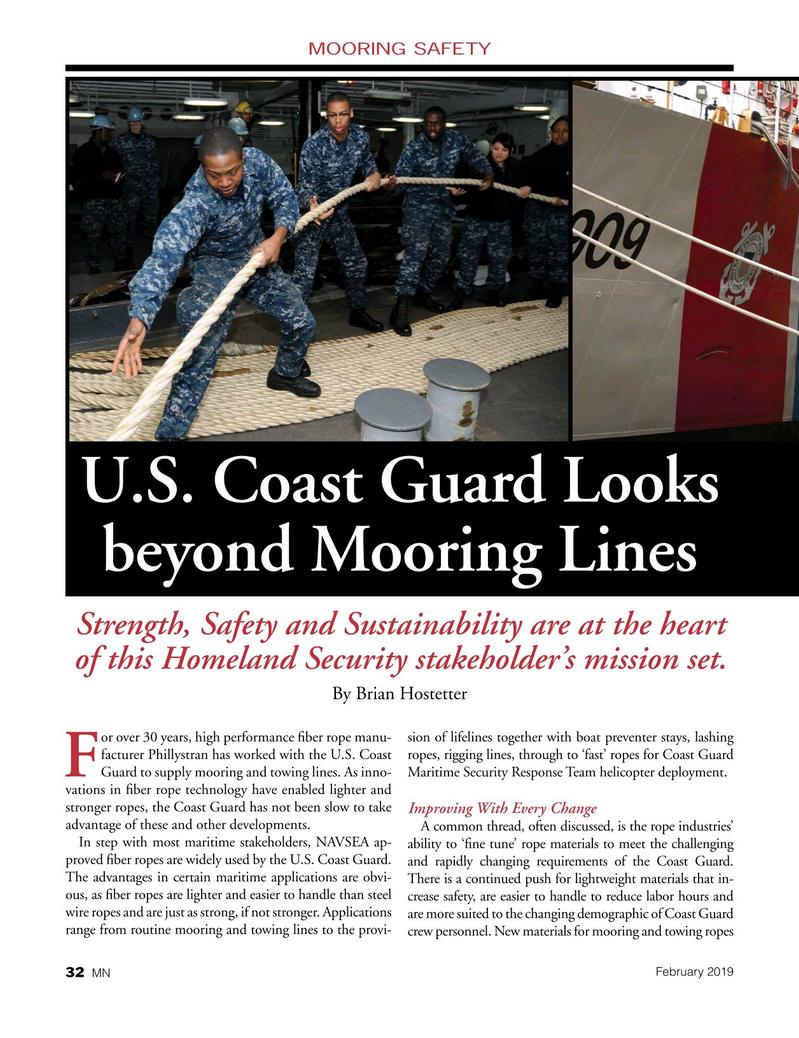 Marine News Magazine, page 32,  Feb 2019
