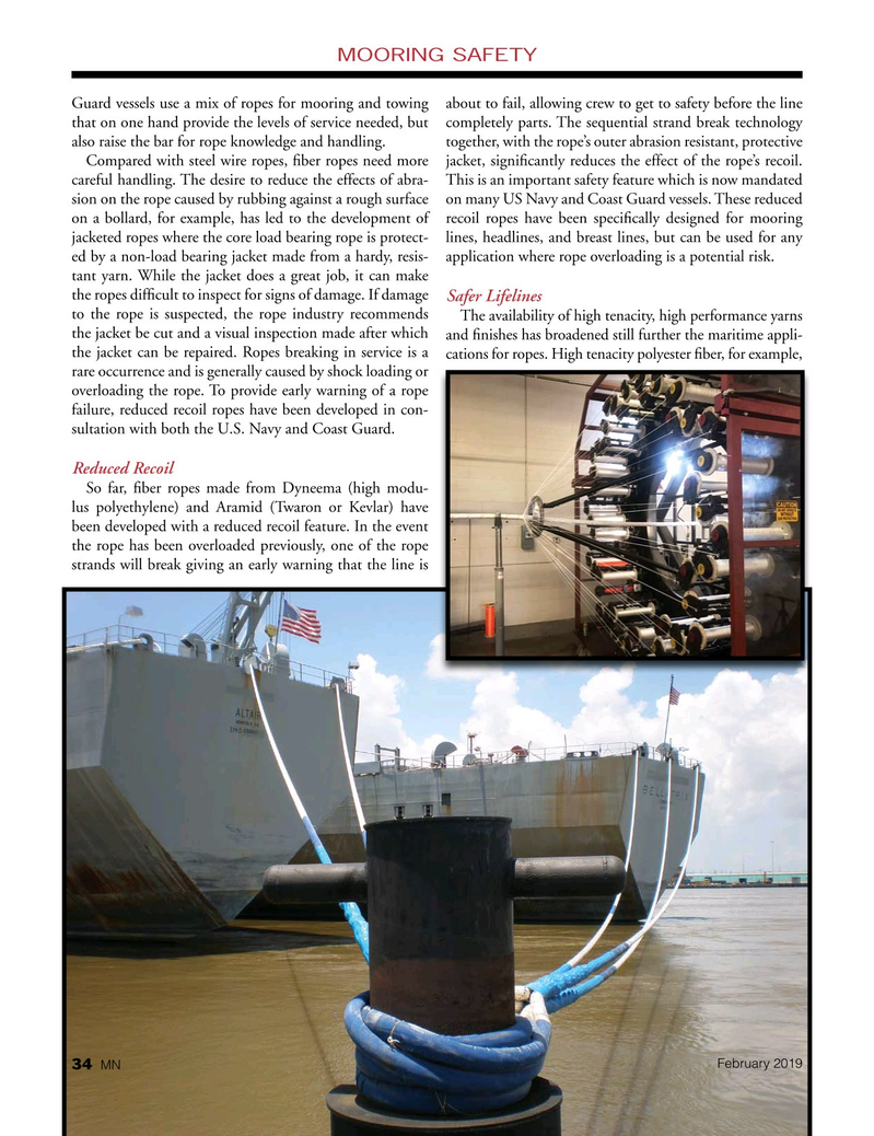 Marine News Magazine, page 34,  Feb 2019