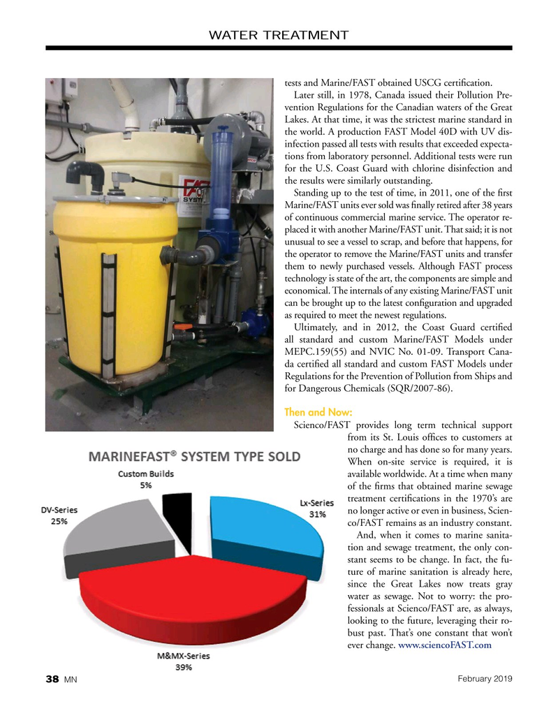 Marine News Magazine, page 38,  Feb 2019