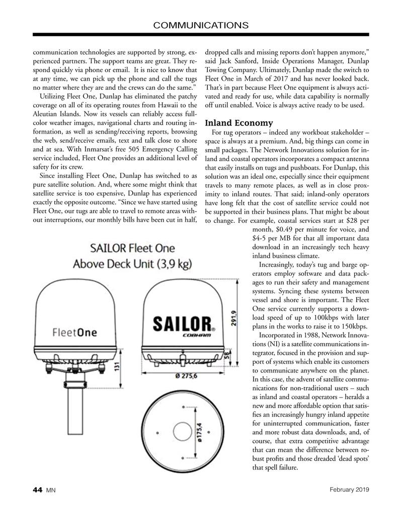 Marine News Magazine, page 44,  Feb 2019