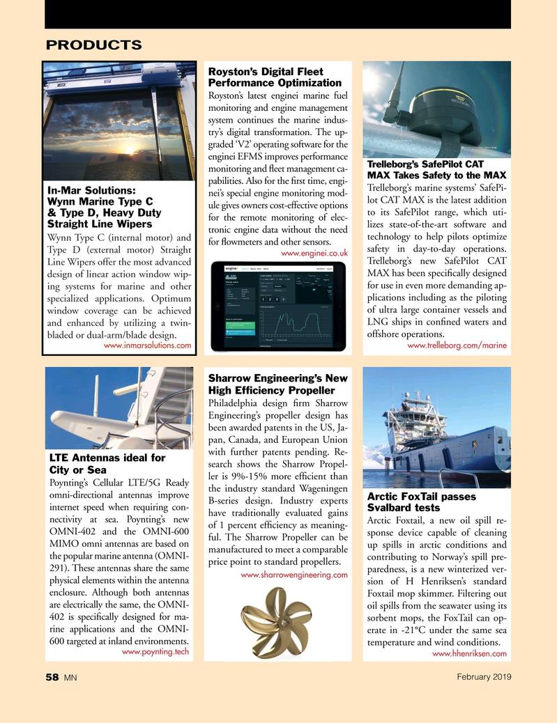 Marine News Magazine, page 58,  Feb 2019