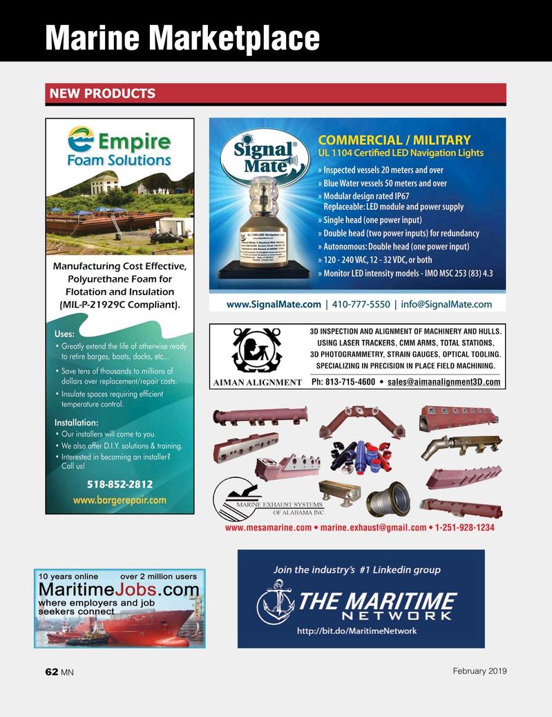 Marine News Magazine, page 62,  Feb 2019
