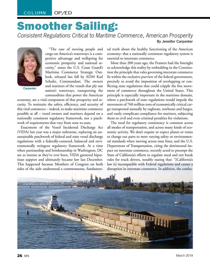 Marine News Magazine, page 26,  Mar 2019