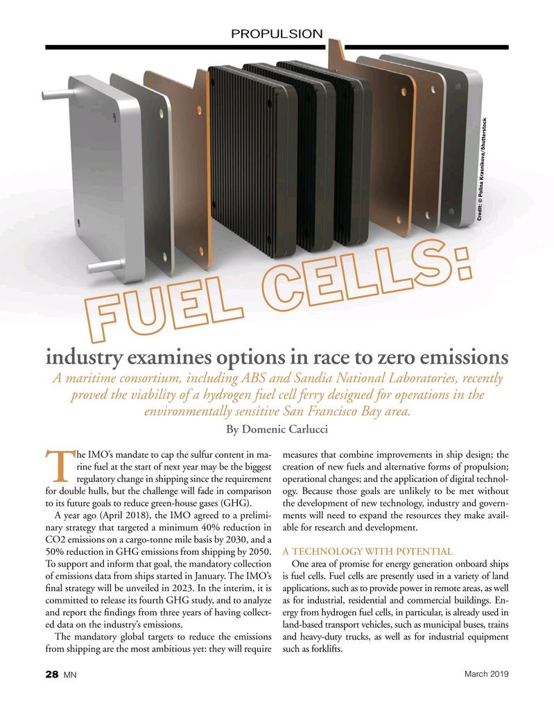 Marine News Magazine, page 28,  Mar 2019