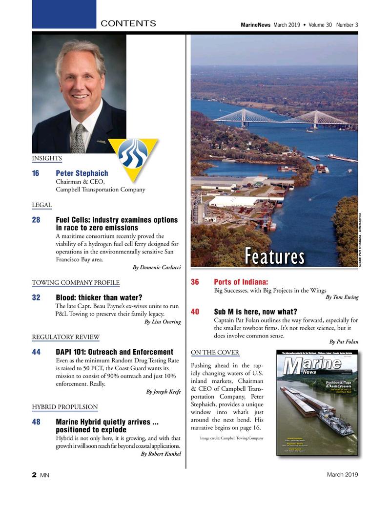 Marine News Magazine, page 2,  Mar 2019