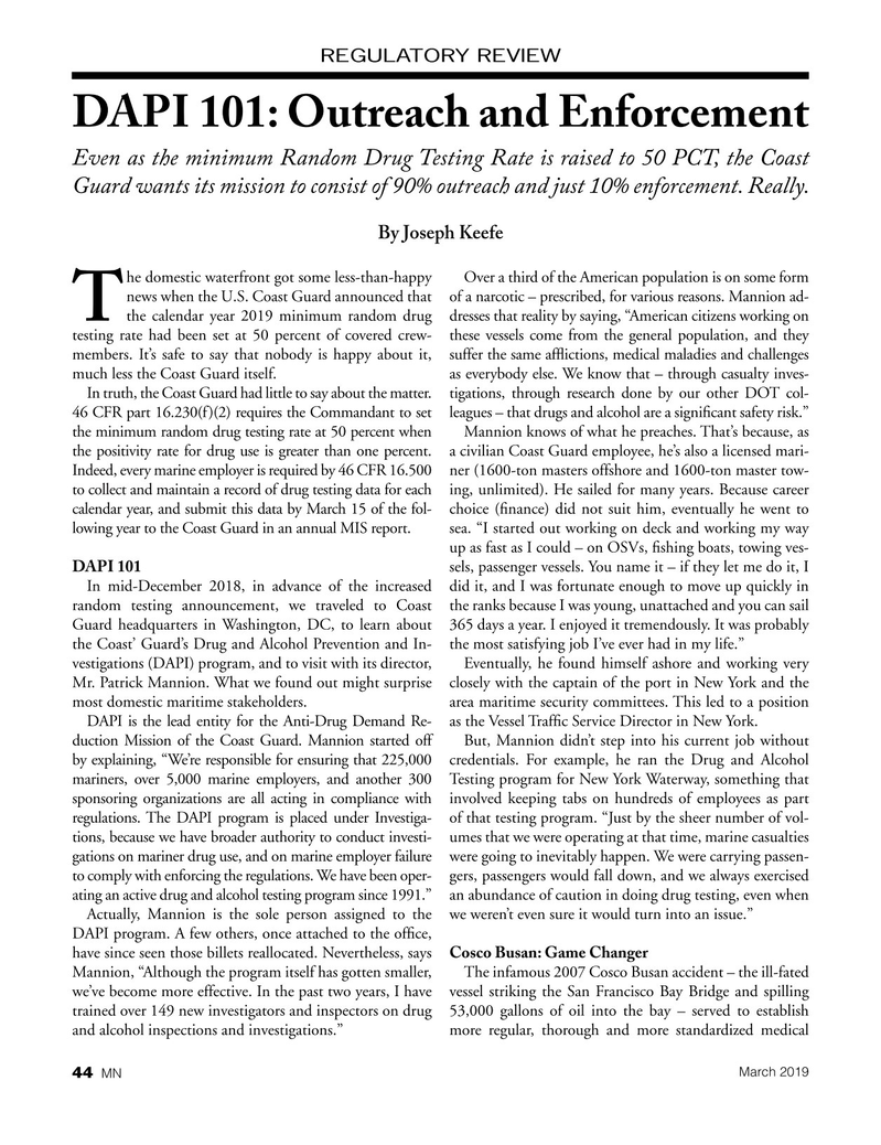 Marine News Magazine, page 44,  Mar 2019