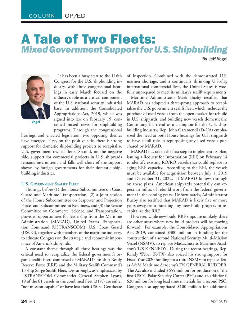 Marine News Magazine, page 24,  Apr 2019