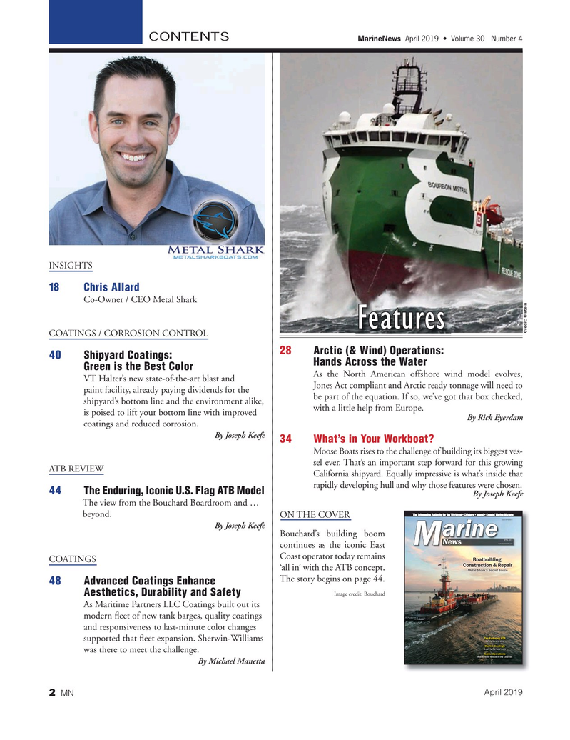 Marine News Magazine, page 2,  Apr 2019