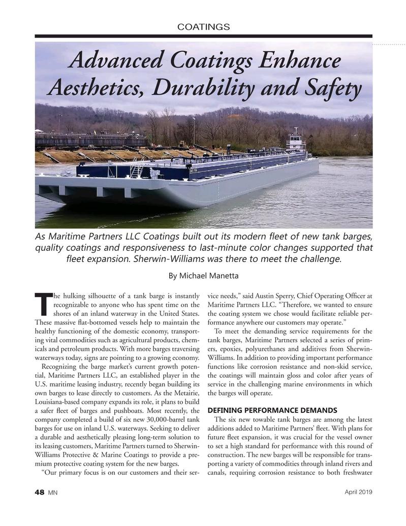 Marine News Magazine, page 48,  Apr 2019