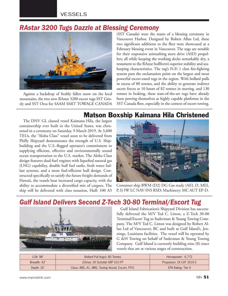 Marine News Magazine, page 51,  Apr 2019