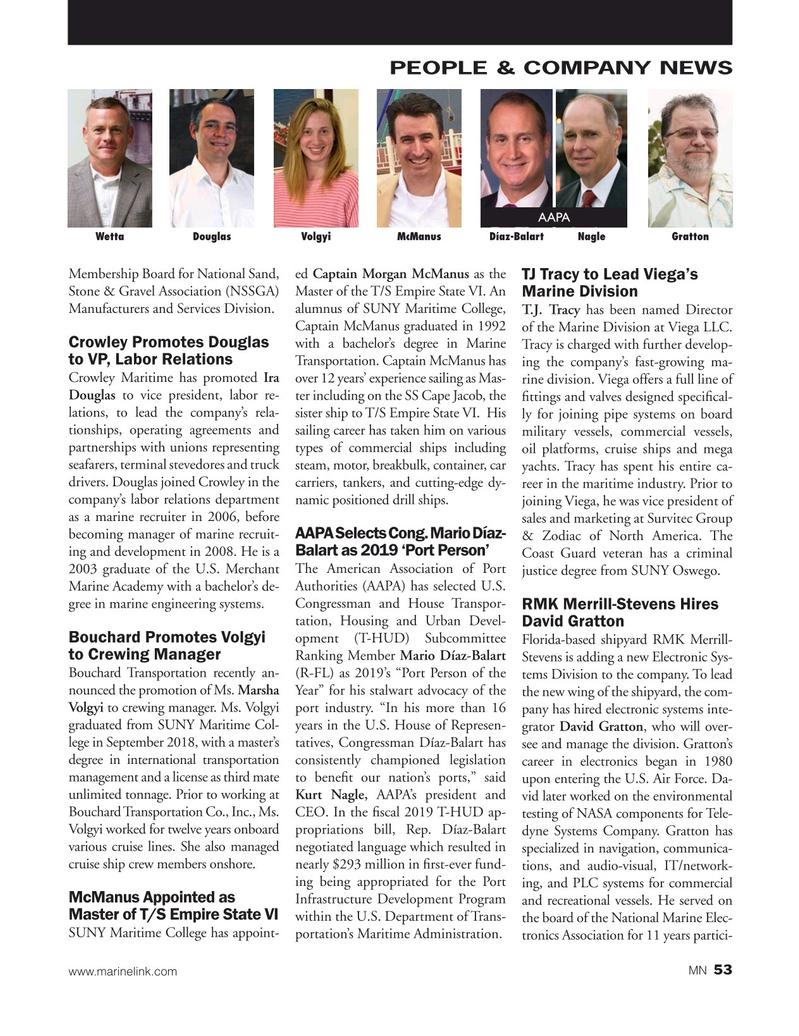 Marine News Magazine, page 53,  Apr 2019