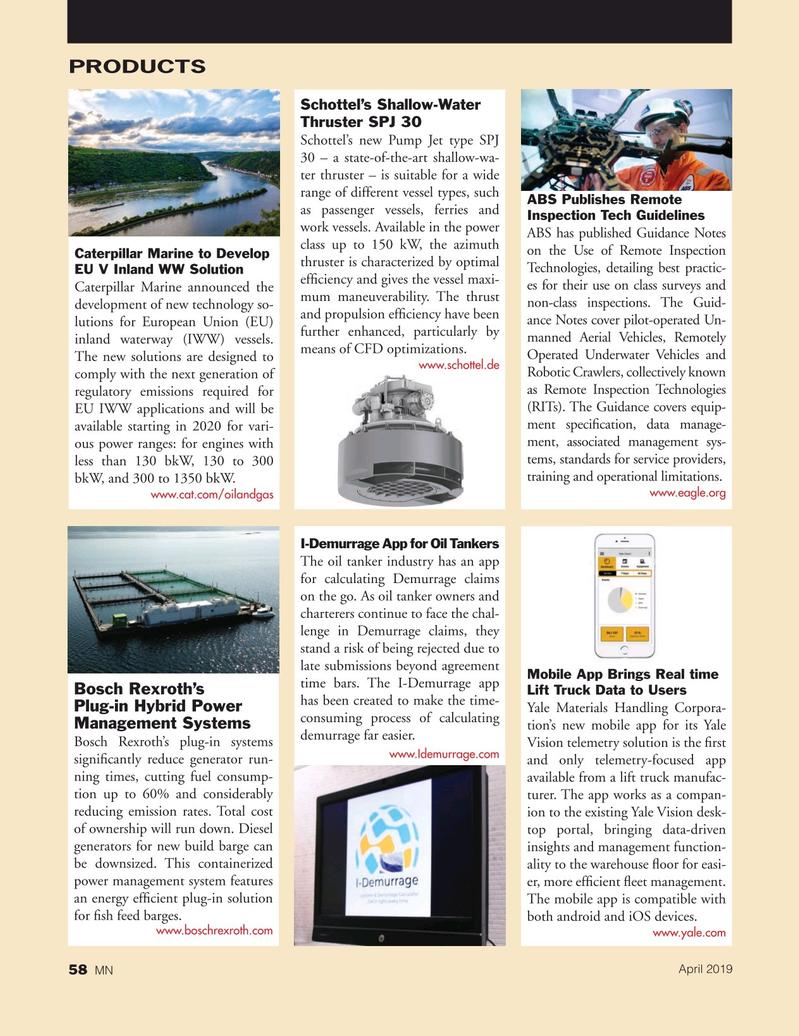 Marine News Magazine, page 58,  Apr 2019