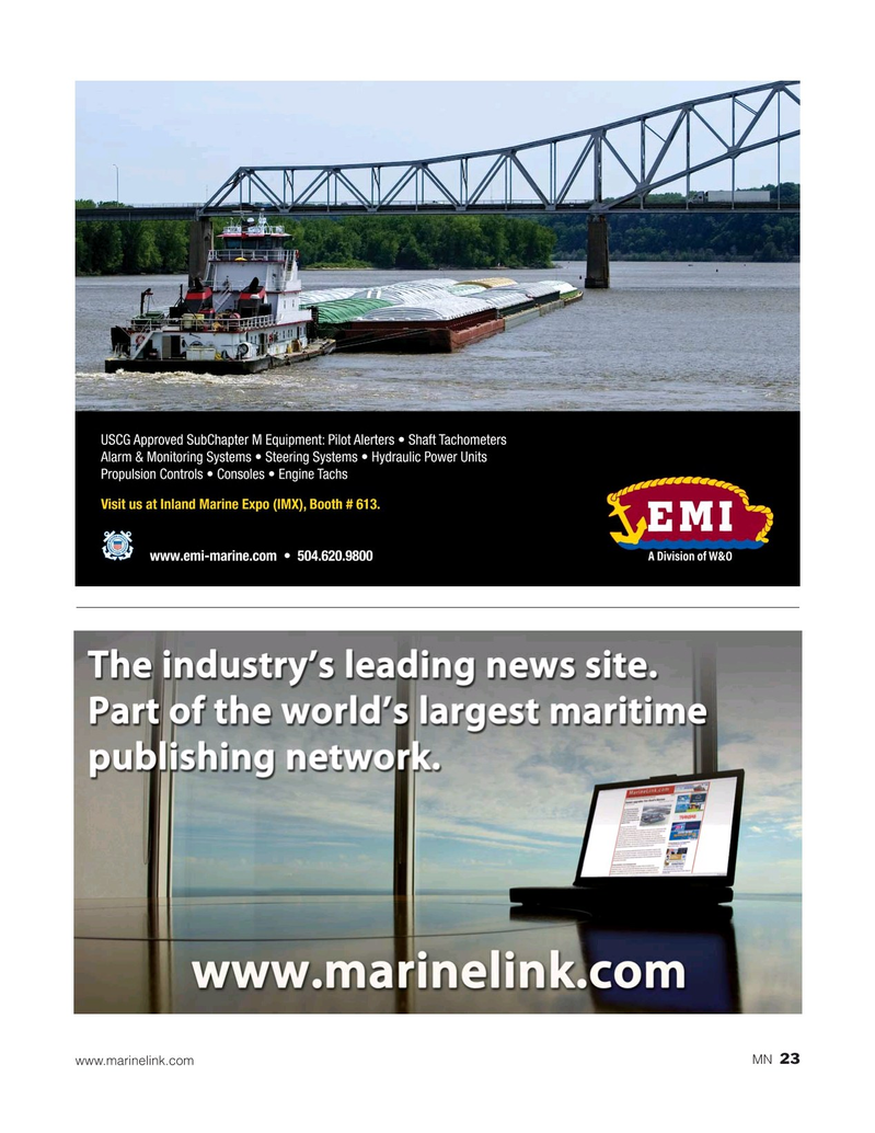 Marine News Magazine, page 23,  May 2019