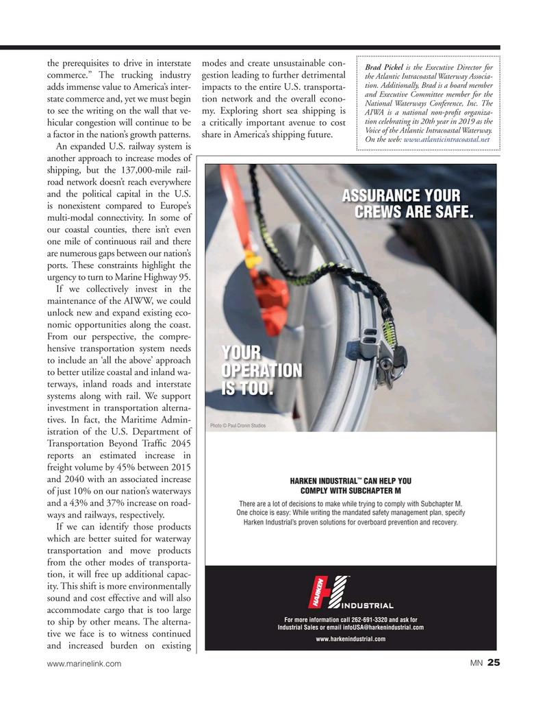 Marine News Magazine, page 25,  May 2019
