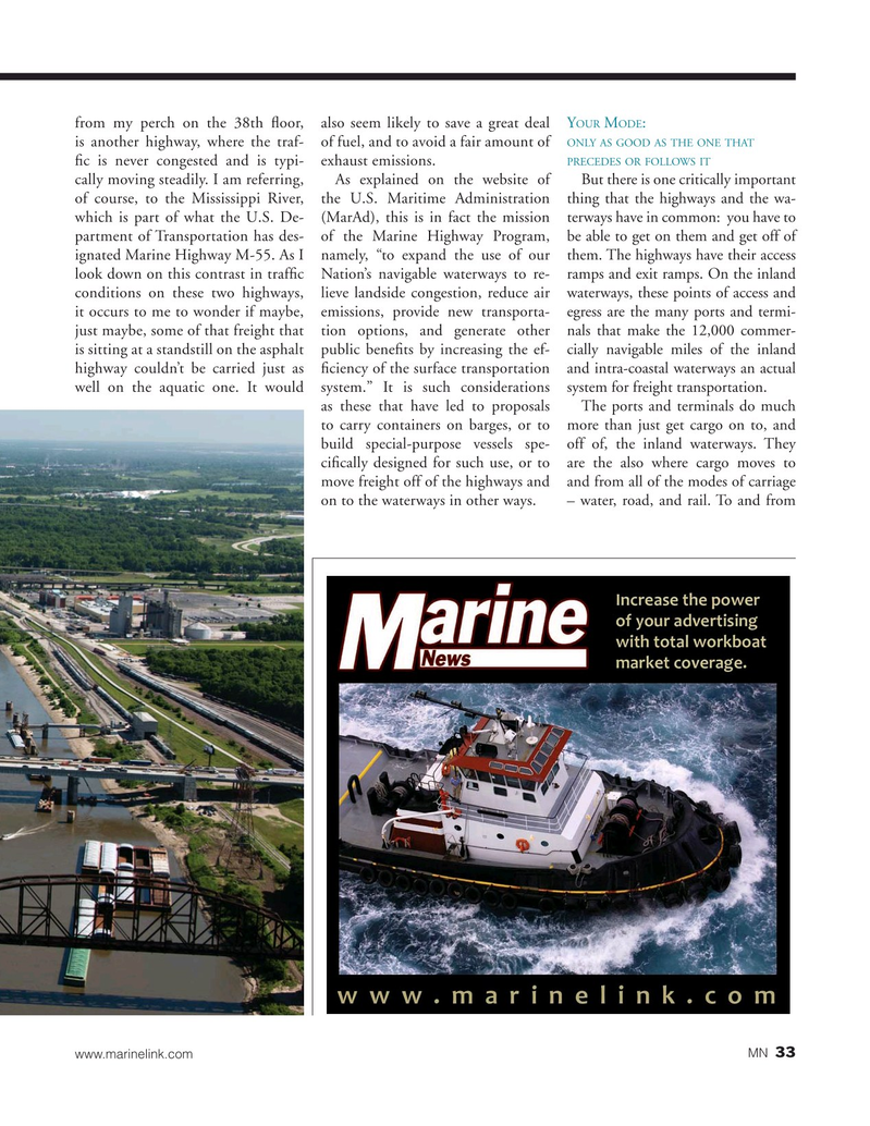 Marine News Magazine, page 33,  May 2019