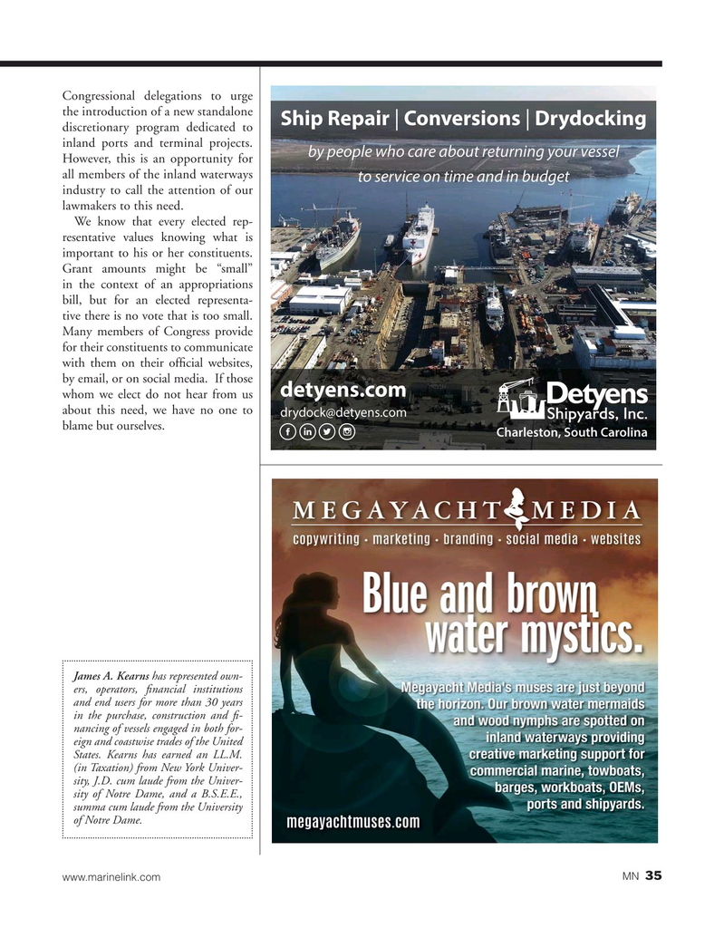 Marine News Magazine, page 35,  May 2019