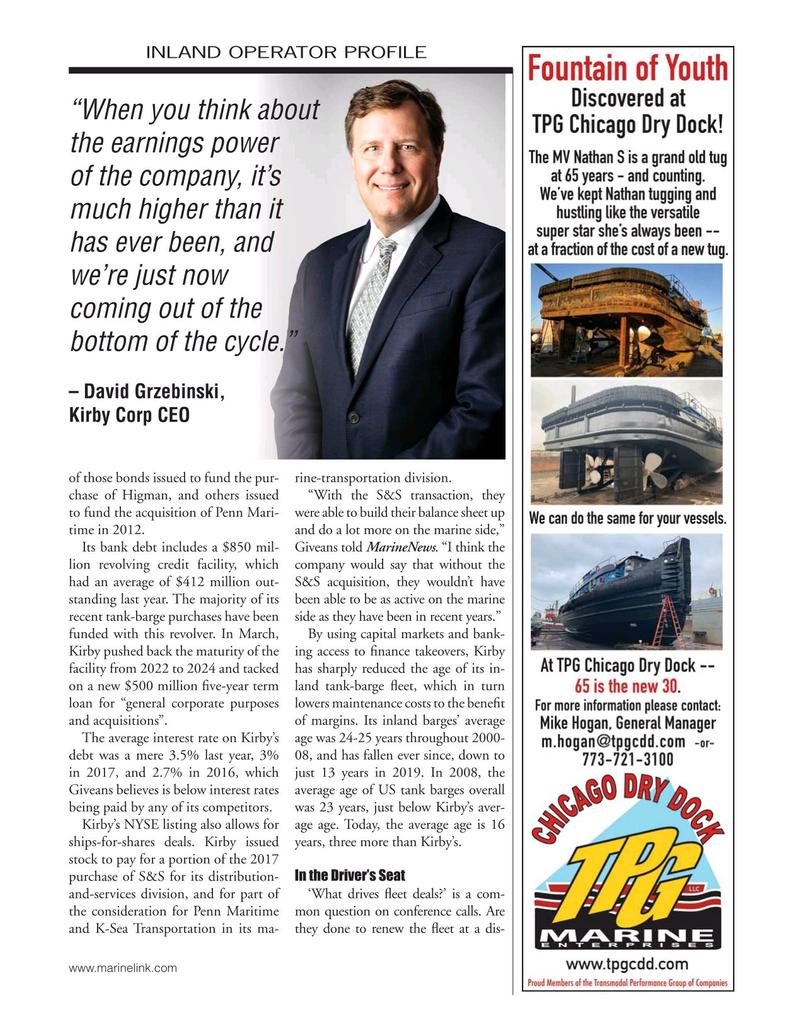 Marine News Magazine, page 41,  May 2019
