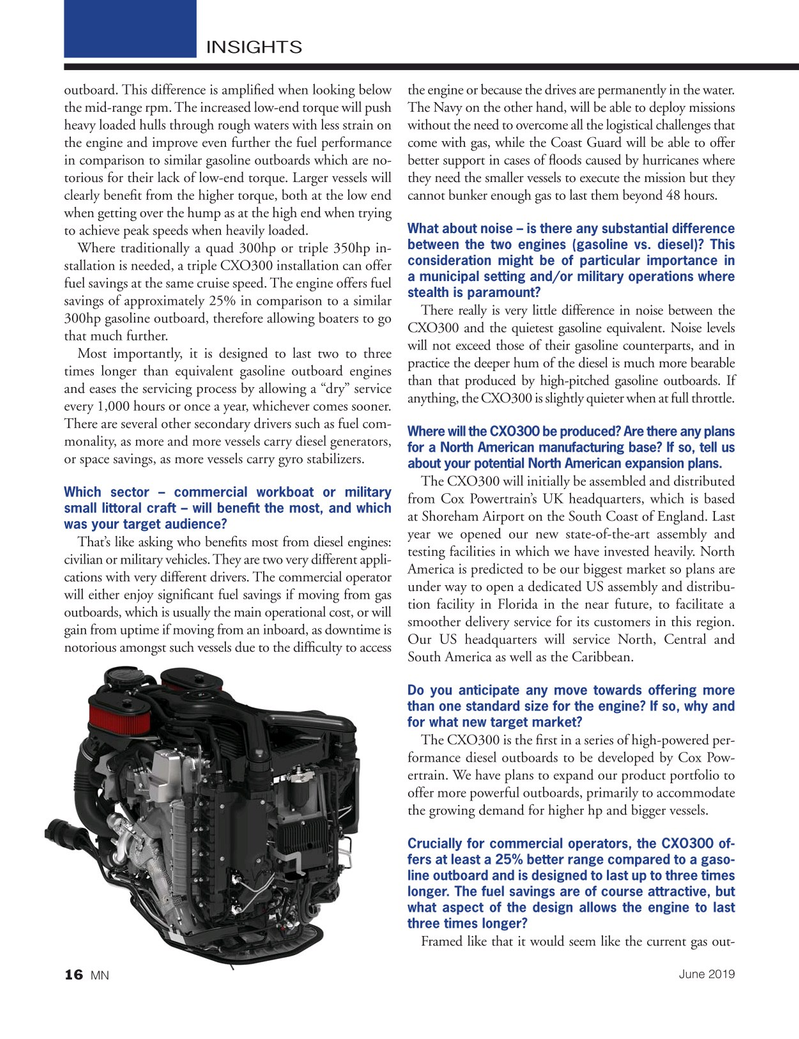 Marine News Magazine, page 16,  Jun 2019