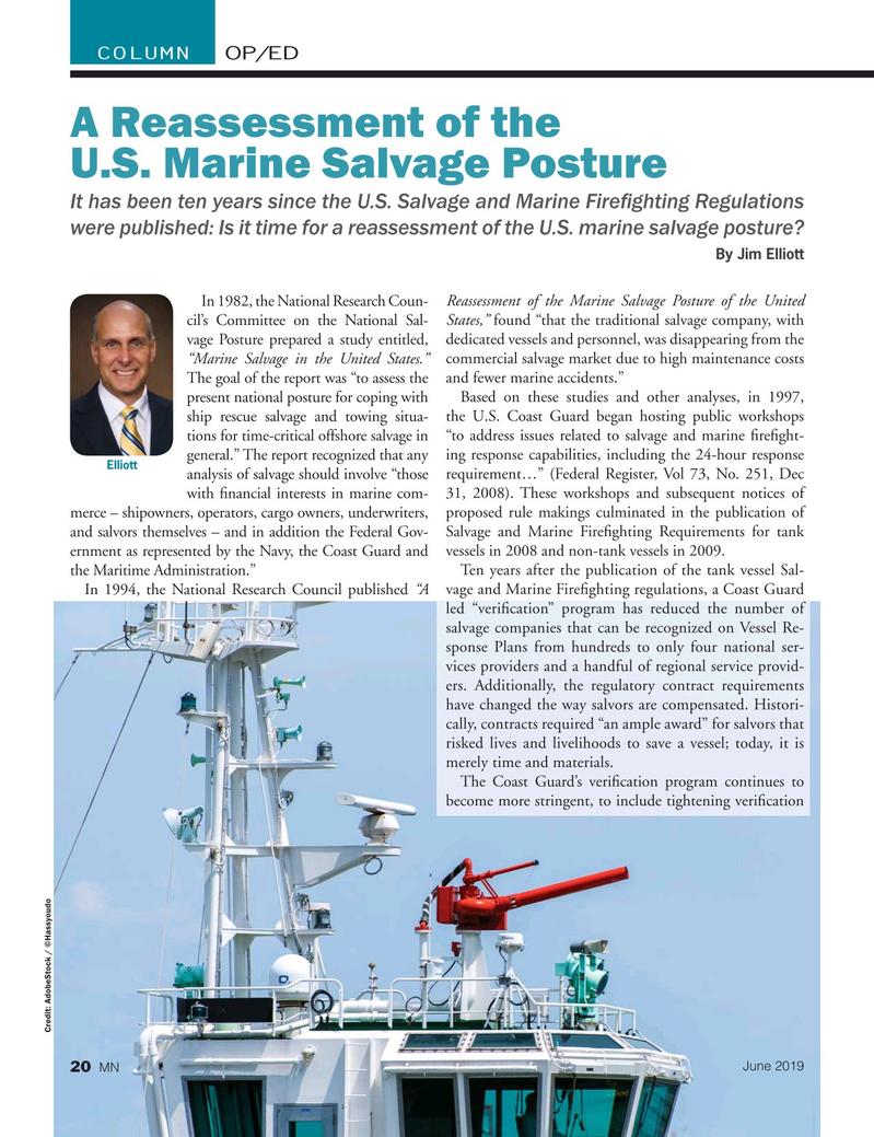 Marine News Magazine, page 20,  Jun 2019