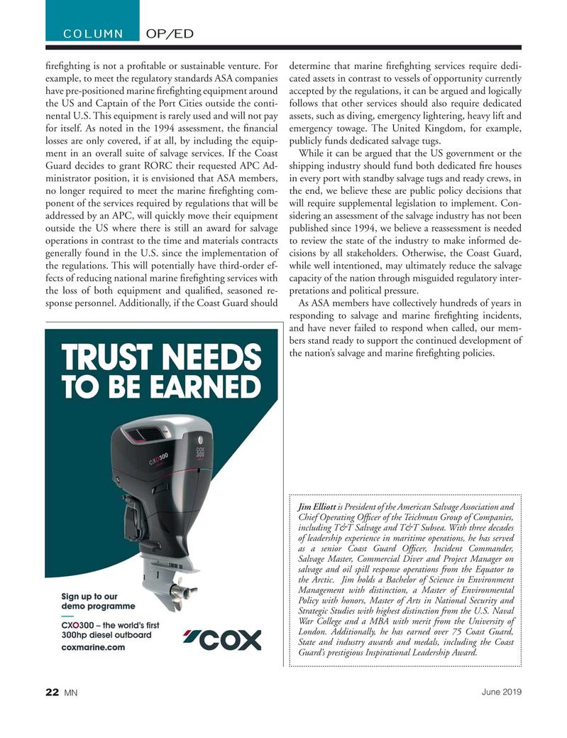 Marine News Magazine, page 22,  Jun 2019