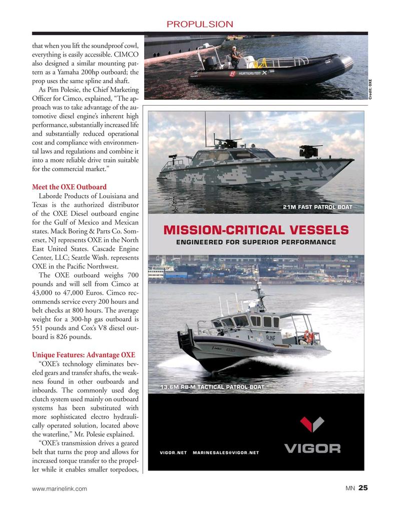 Marine News Magazine, page 25,  Jun 2019