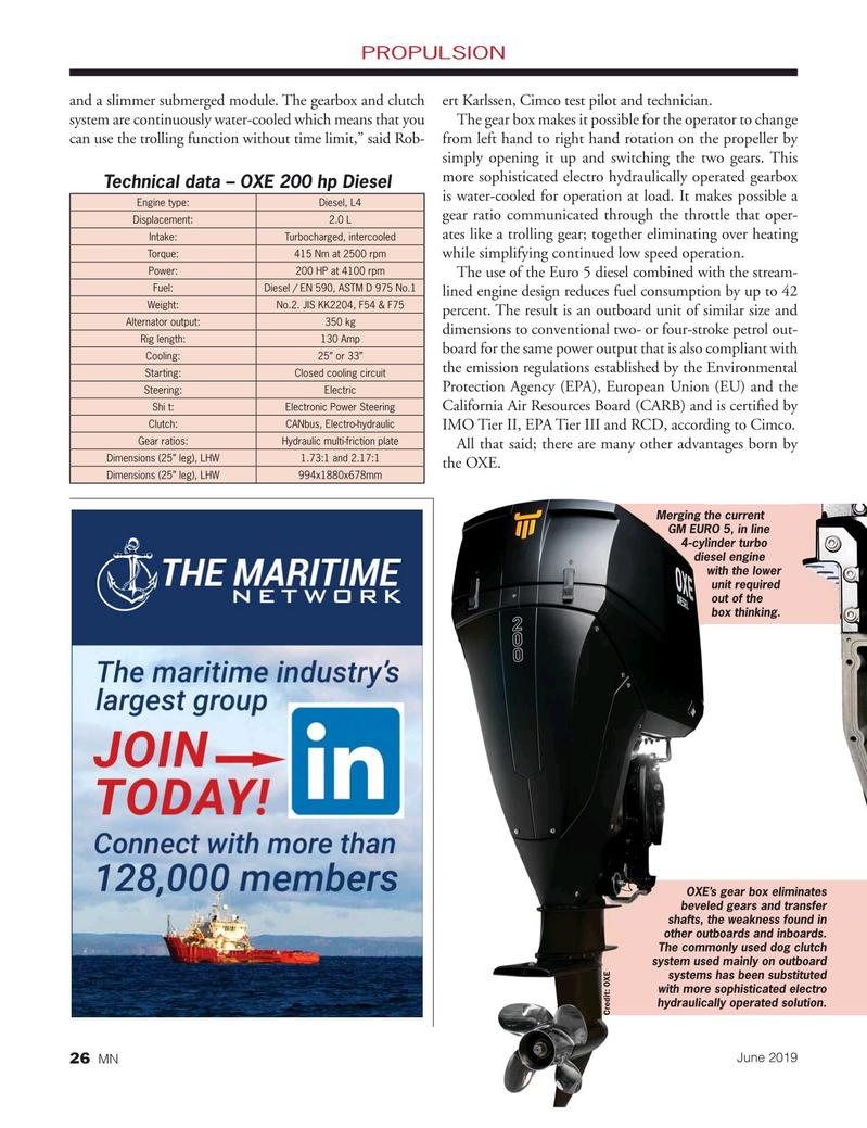 Marine News Magazine, page 26,  Jun 2019