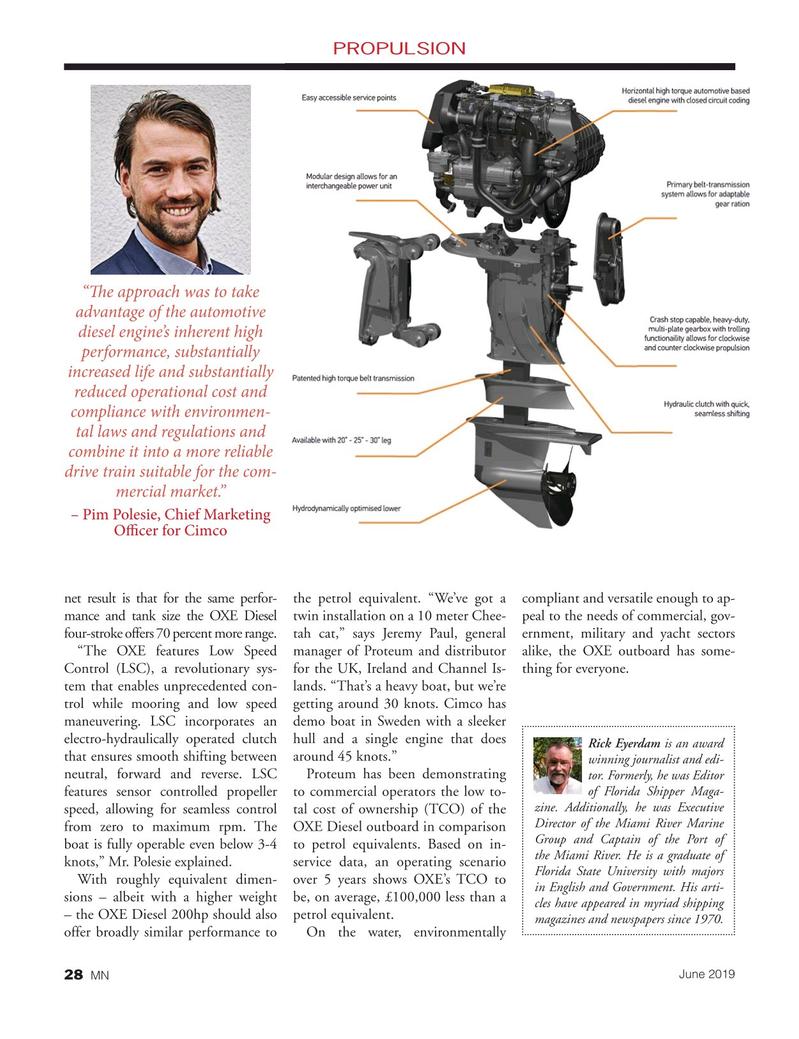 Marine News Magazine, page 28,  Jun 2019