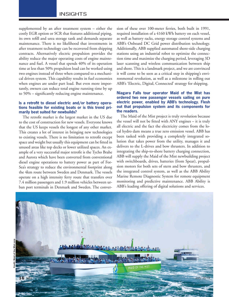 Marine News Magazine, page 16,  Jul 2019