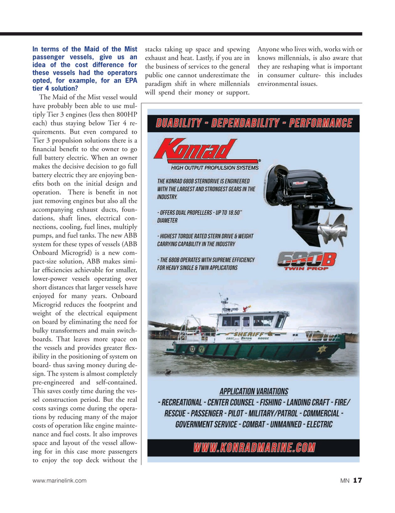 Marine News Magazine, page 17,  Jul 2019