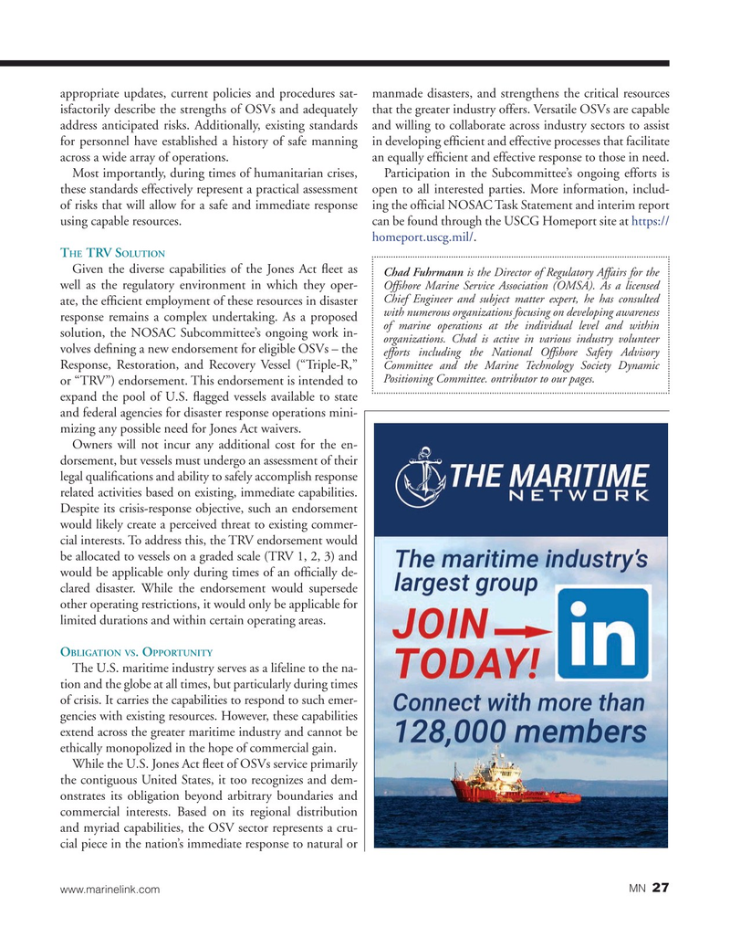 Marine News Magazine, page 27,  Jul 2019