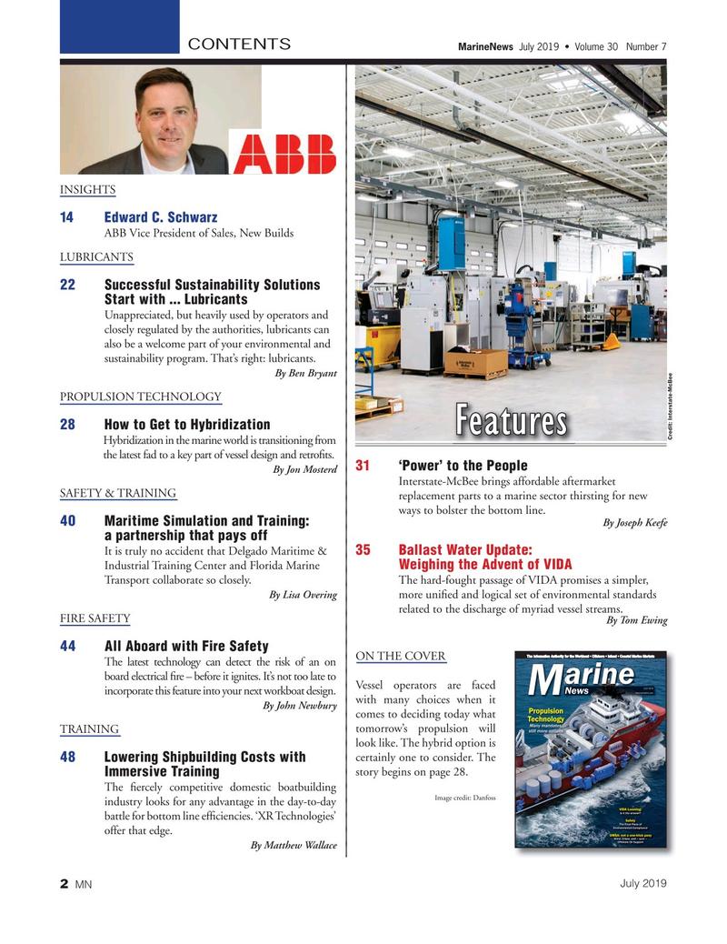 Marine News Magazine, page 2,  Jul 2019