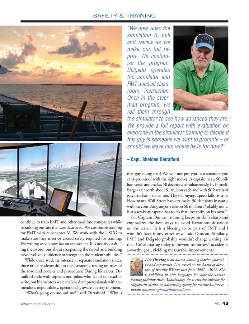 Marine News Magazine, page 43,  Jul 2019